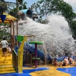 Singapore Zoo's children's wet play area is Rainforest Kidzworld