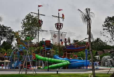 Port Of Lost Wonder at Sentosa, Singapore is a play park for kids.