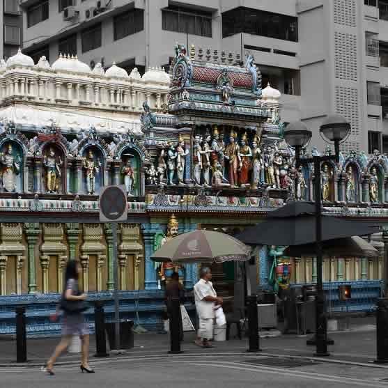 Singapore's Sri Krishnan Temple is a Lord Krishna Temple.