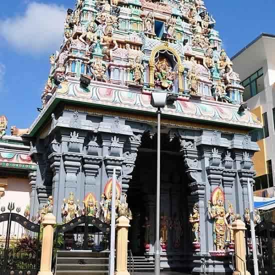 Sri Ruthra Kaliamman Temple in Singapore is a Kali (Durga) Temple.