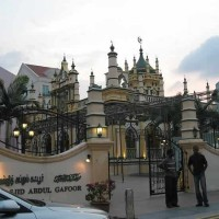 Abdul Gaffoor Mosque in Singapore's Little India