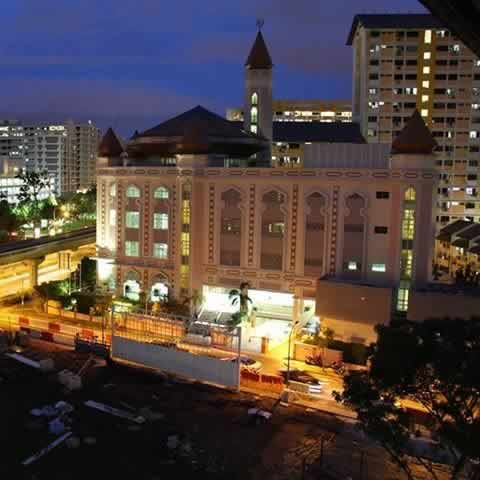 Al-Iman Mosque is among Singapore's better new Mosques