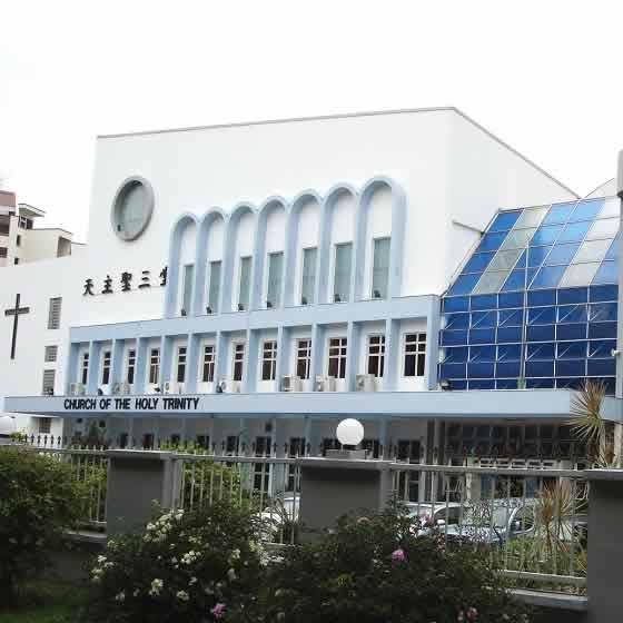 Church of the Holy Trinity has Singapore's largest Christian Parish