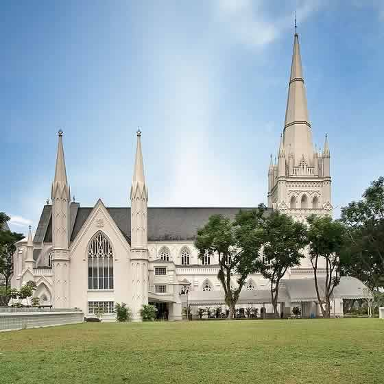 Saint Andrew's Cathedral Is Singapore's Oldest Anglican
