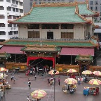Kwan Im Thong Hood Cho Temple is a famous temple in Singapore