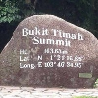Summit Of Bukit Timah Hill In Bukit Timah Nature Reserve