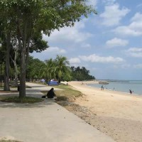 Singapore's East Coast Park is a 15 Km Long Beach Park